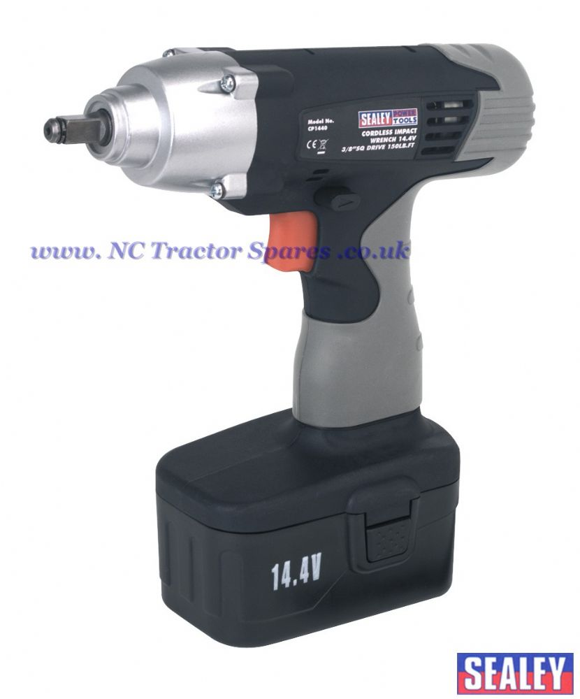 "Cordless Impact Wrench 14.4V 3/8""Sq Drive 150lb.ft"
